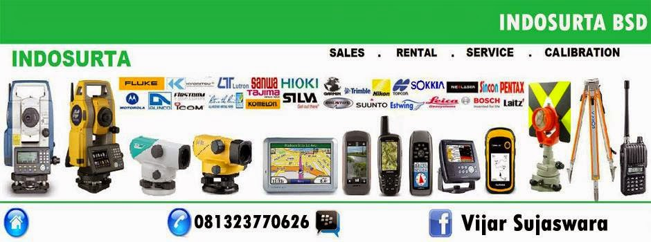Indosurta Surabaya adalah perusahaan cabang Indosurta Group yang bergerak di bidang penjualan, sewa, servis, dan kalibrasi alat ukur khususnya alat survey dan pemetaan di Surabaya, Jawa Timur.