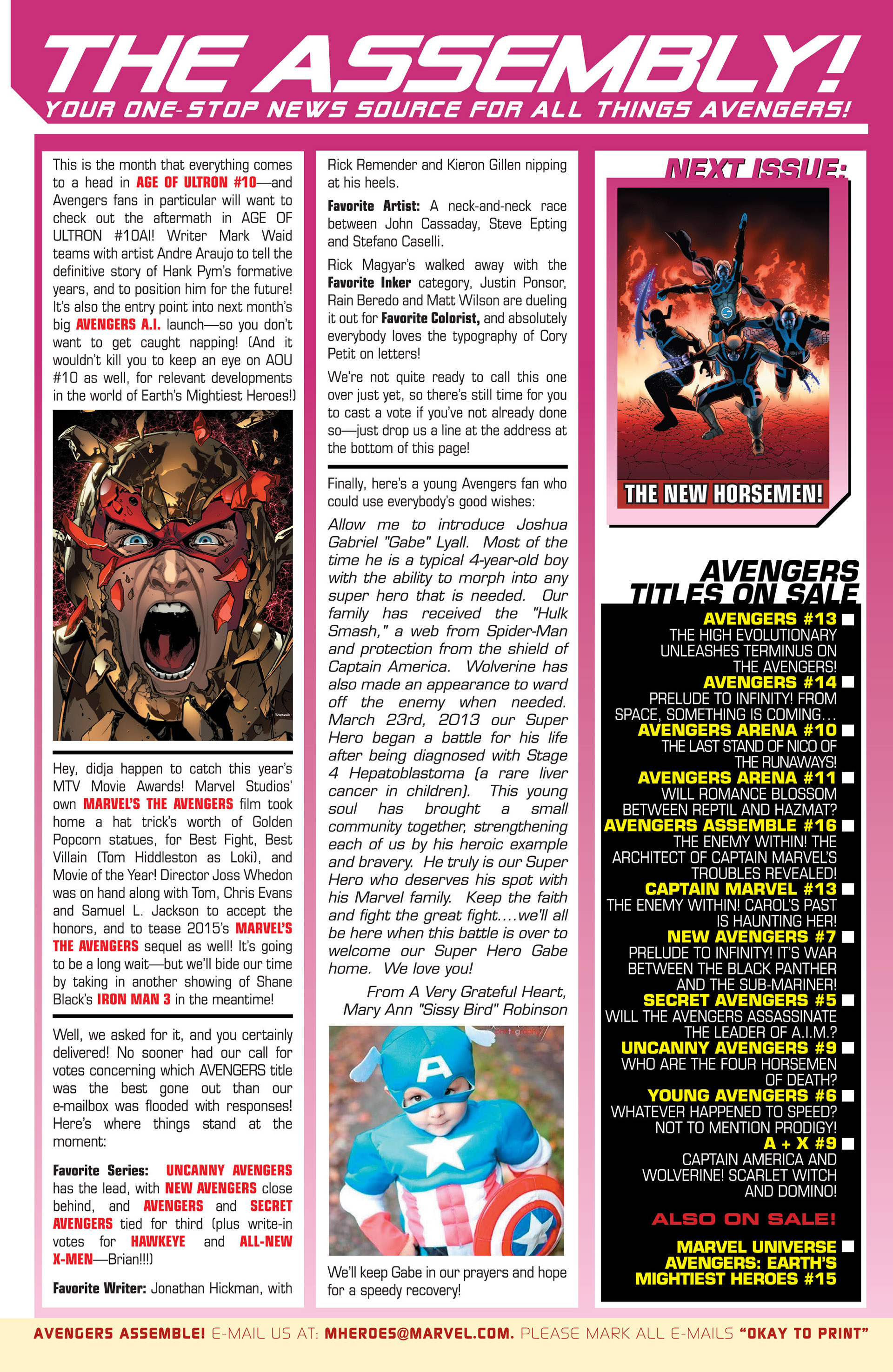 Read online Uncanny Avengers (2012) comic -  Issue #9 - 20