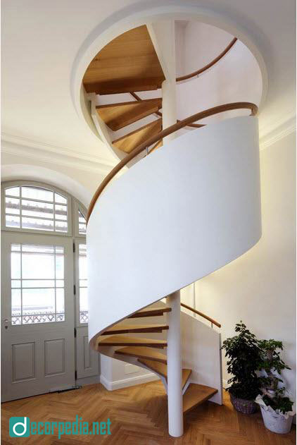 Modern spiral staircase designs - top types and tips for choice