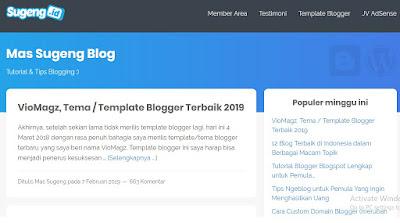 Situs Belajar Ngeblog sudengid