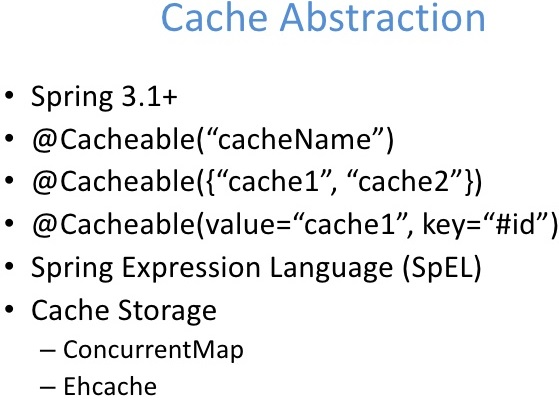 Spring Cache Tutorial