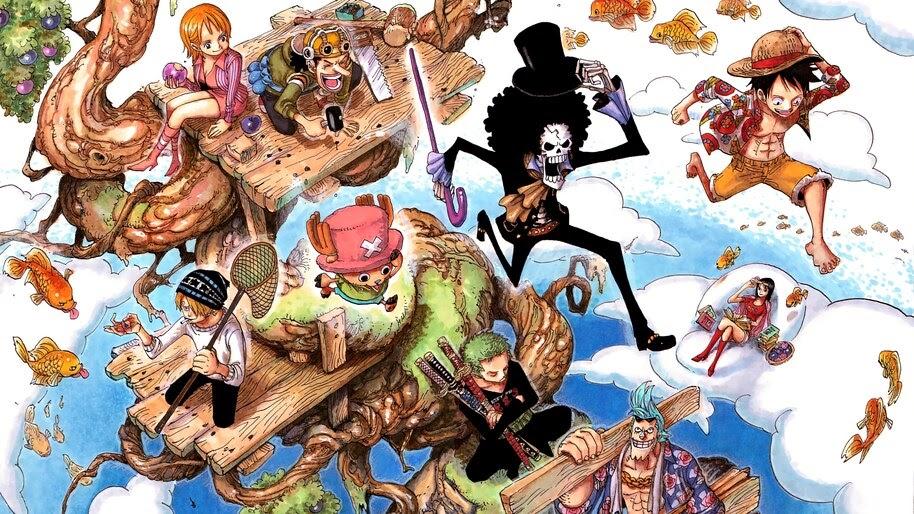 One Piece, Straw Hat Pirates, 4K, #6.149