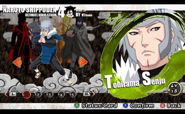 Naruto Impact Mod Texture Tobirama Senju Replace Naruto