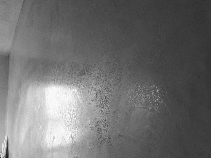 Fugenlose Oberfläche-Kalkmarmorputz