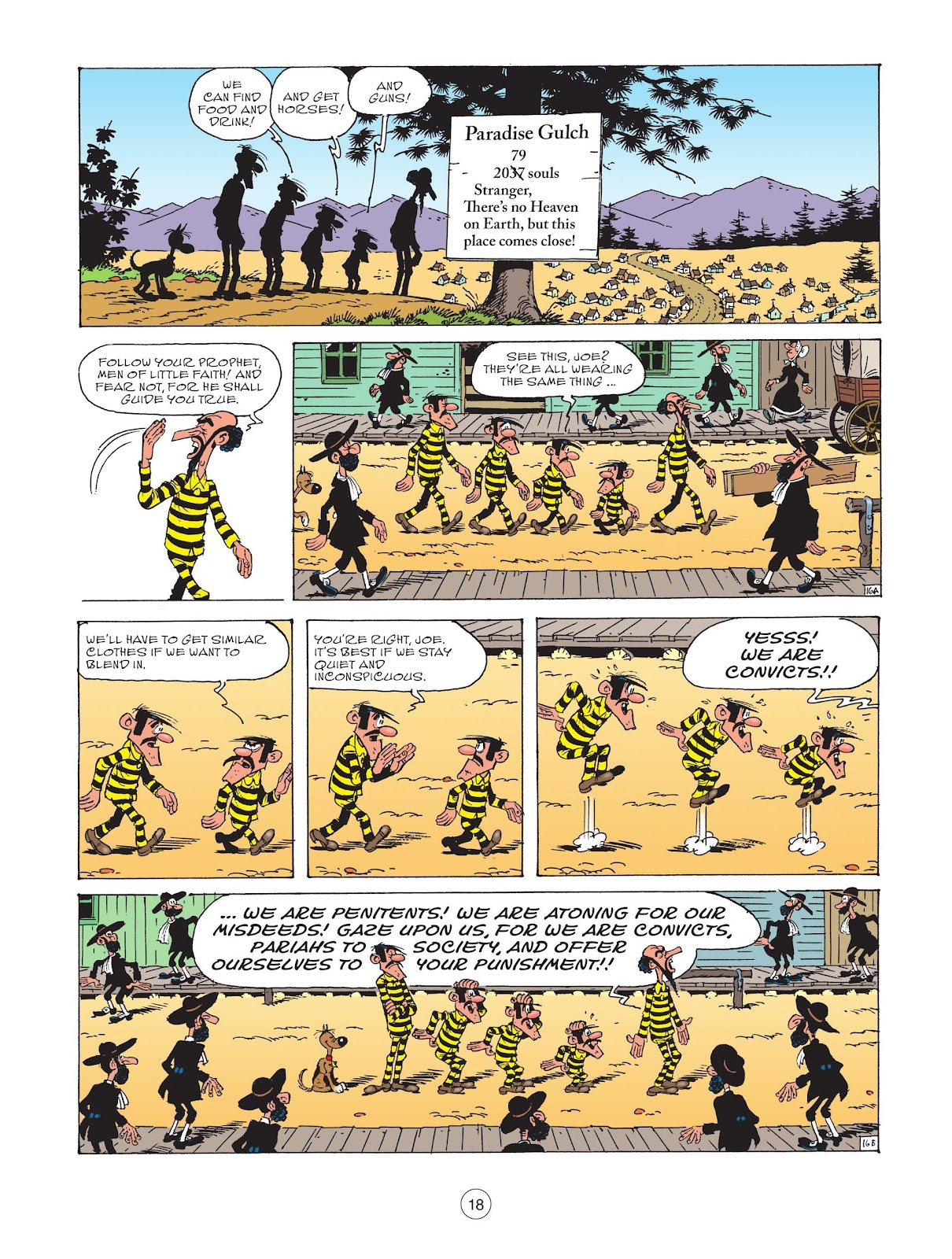 A Lucky Luke Adventure issue 73 - Page 20