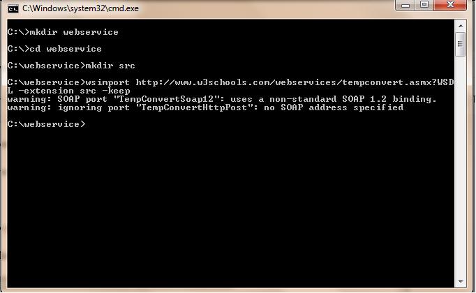 Programming World: Java WebService Tutorial - Part 06 ( Using