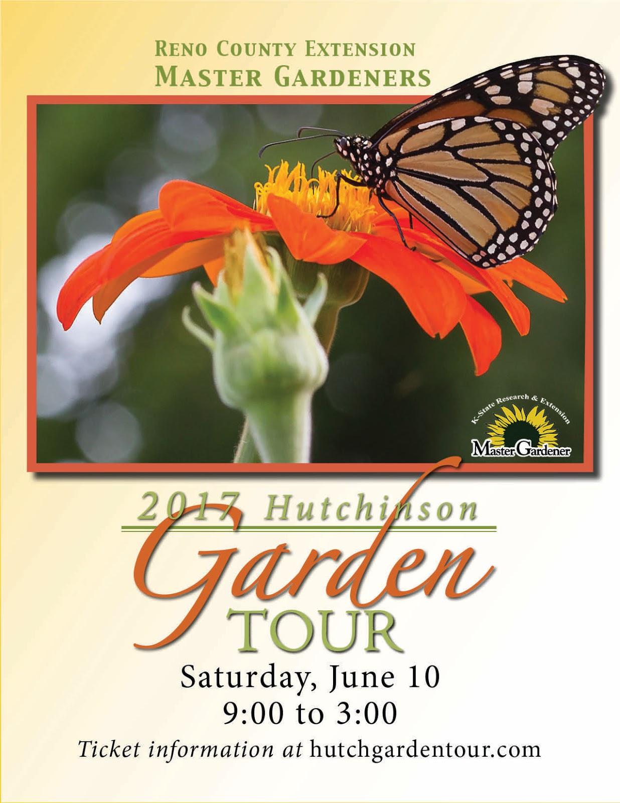 Garden Tour Poster for 2017