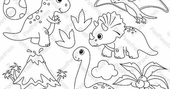 Desenhos De Dinossauros Para Colorir Imagens E Moldes