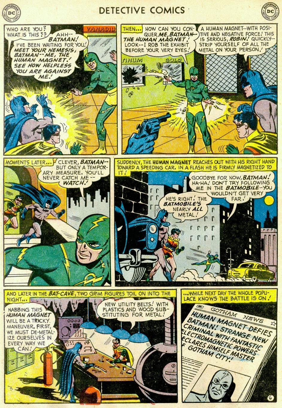 Read online Detective Comics (1937) comic -  Issue #181 - 8