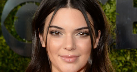 Kendall Jenner's Smooth-but-Not-Flat Strands Latest Hairstyle