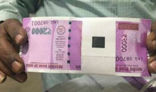 Rs.2000 notes will be issued by RBI
