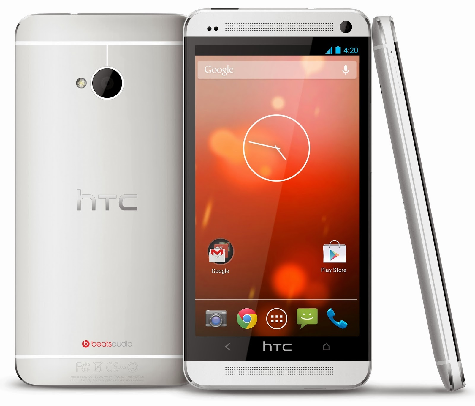 HTC Google Play Edition se actualiza a Lollipop