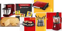 Logo Concorso ''Premi per tutti i gusti'': vinci Grill, Fondue, Robot, Multi Raclette e fantastiche Impastatrici