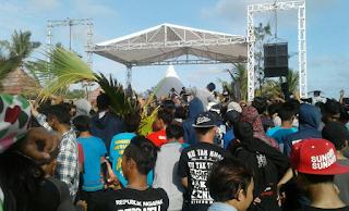 live music pantai widarapayung