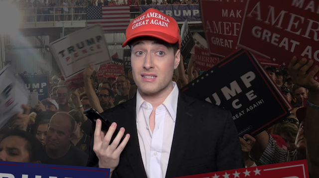 Randy Rainbow You're Making Things Up Again, Donald