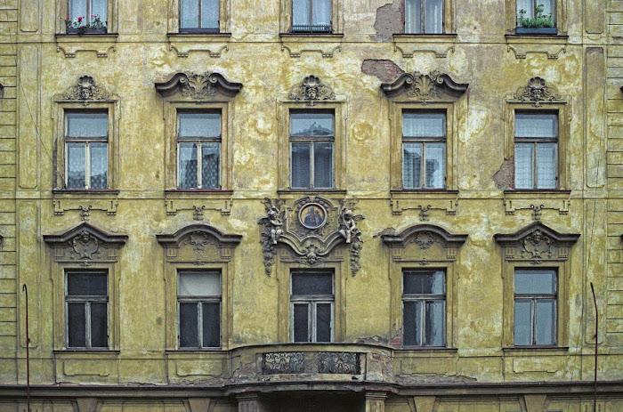 Prague, rue Klimenska, © L. Gigout, 1990