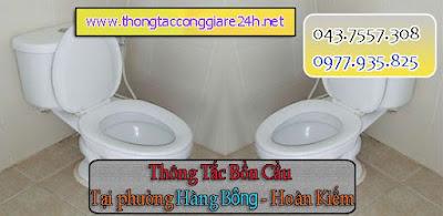 Thông tắc bồn cầu tại phường hàng bông giá rẻ,thông cống,chậu rửa,toilet thoát sàn nhà vệ sinh hà nội 0979.266.769
