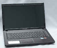 Notebook Gaming Lenovo G470 bekas