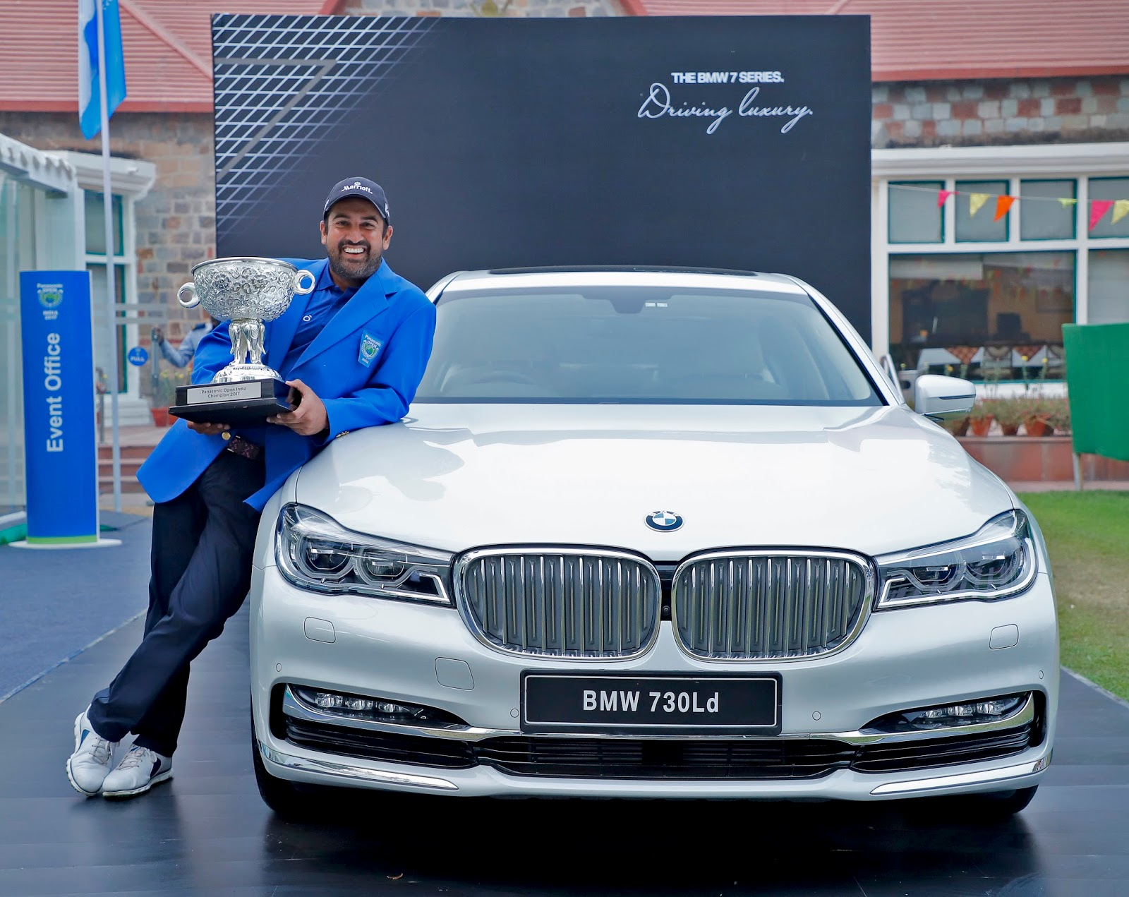 BMW stands out as the 'Luxury Mobility Partner' at the