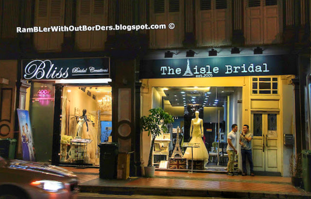 Bridal shops, Tanjong Pagar Road, Singapore