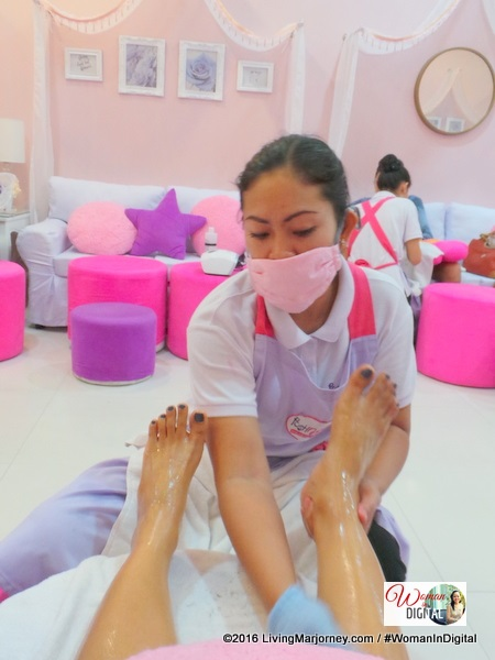 Posh Nails Foot Spa