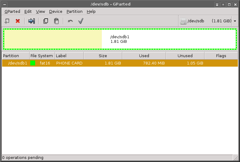 Create Ext3/Ext4 MicroSD Partition using Gparted for LinkSD (app2sd android)
