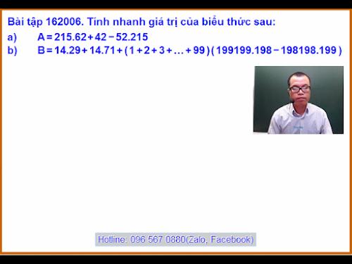 Bài tập 162006