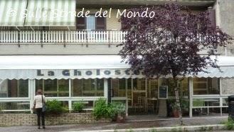 La Gholosteria a villa Adriana, esterno