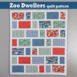 Zoo Dwellers - A free quilt pattern from A Bright Corner