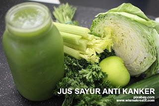 Jus Sayur Anti Kanker