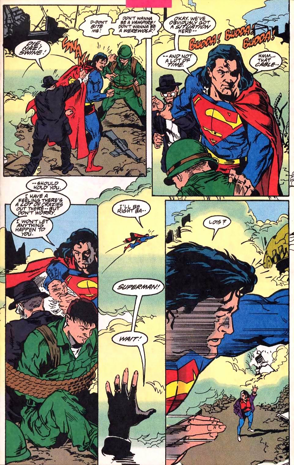 Read online Adventures of Superman (1987) comic -  Issue #514 - 8