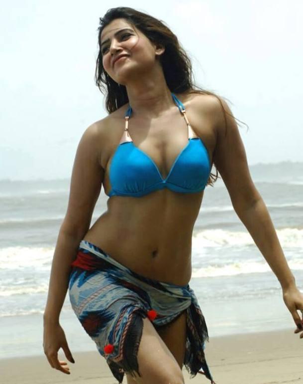 Samantha hot Bikini Photos from Anjaan