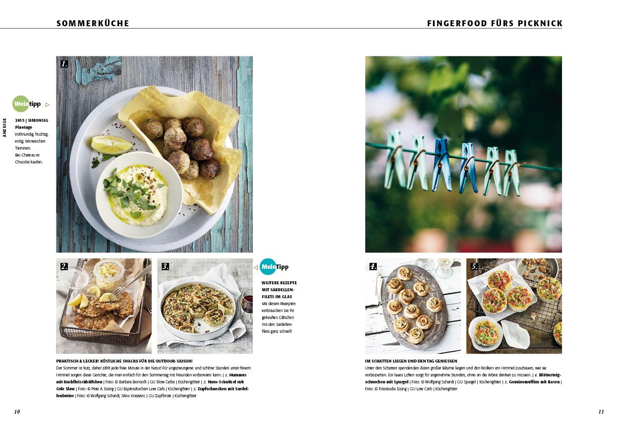 Rezeptideen Sommerküche : SommerkÜche die neue ausgabe ist online! aromenspiele online