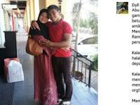 Peluk Ibu Kandung Sendiri Dalam Foto, Pria ini Justru Dikecam, Ternyata ini Penyebabnya