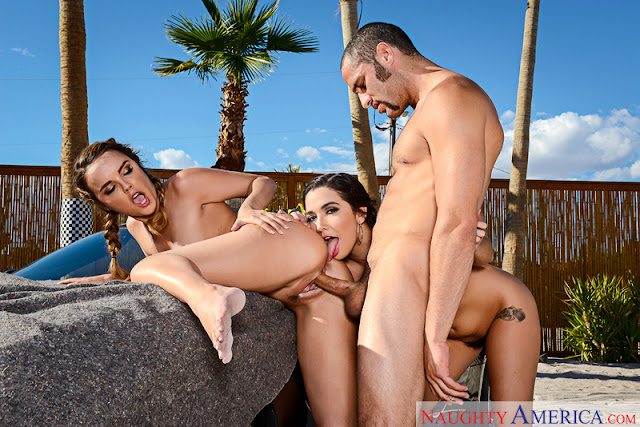 Dillion Harper, Karlee Grey - Naughty Athletics (Naughty America)