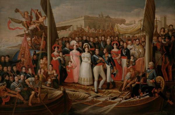 Ferdinand VII disembarks at Puerto de Santa María