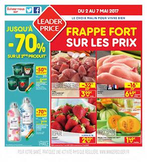 Catalogue Leader Price 02 au 07 Mai 2017