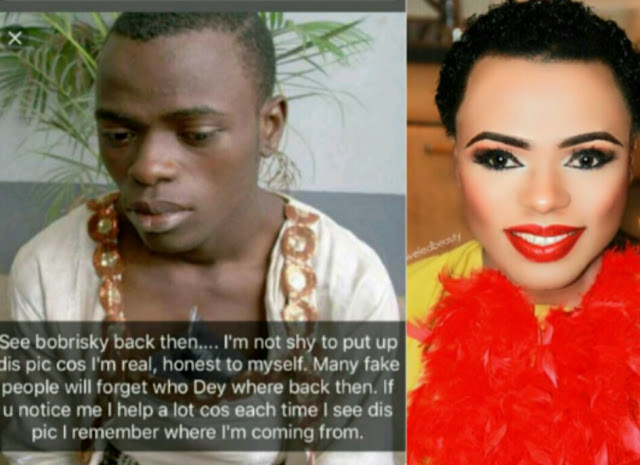 Photo Of The Day Bobrisky Shares Throwback Pic Of Him