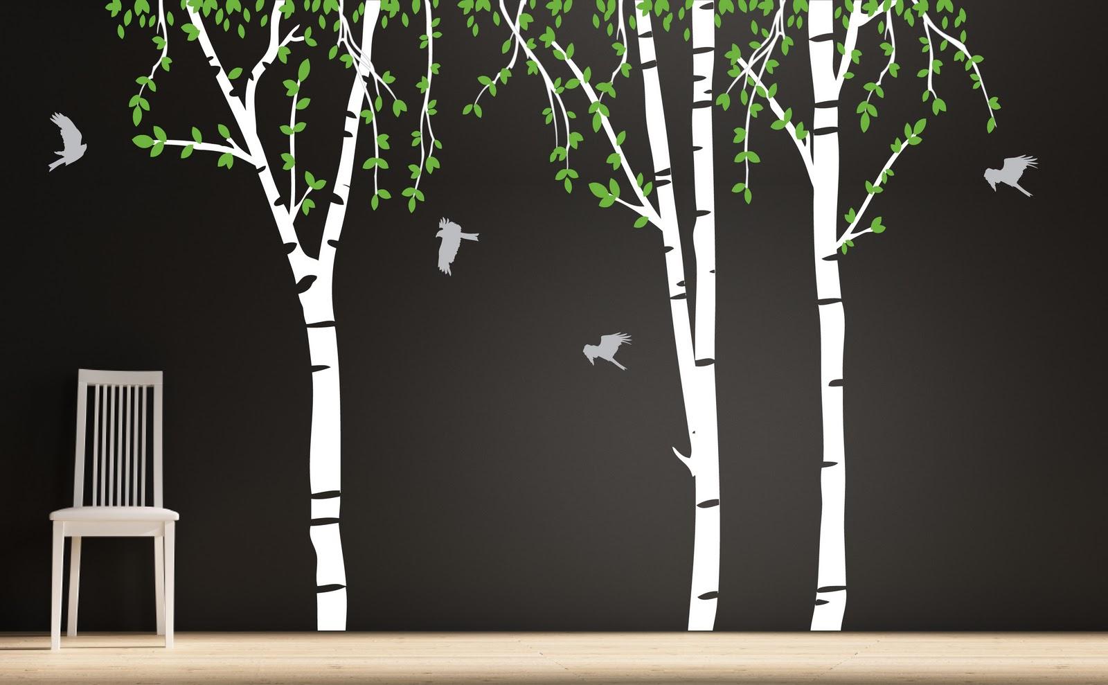 Janey Mac New Tree Wall Decals