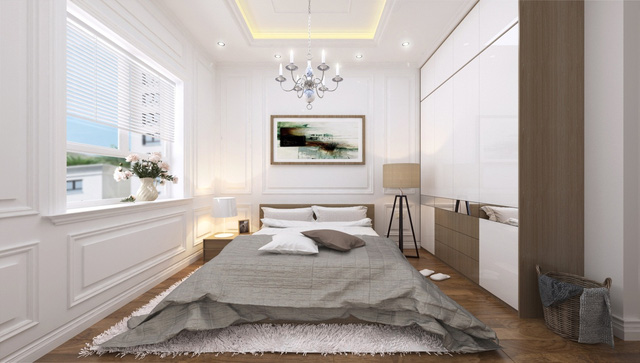 Nội thất cao cấp căn hộ Eco City Long Biên