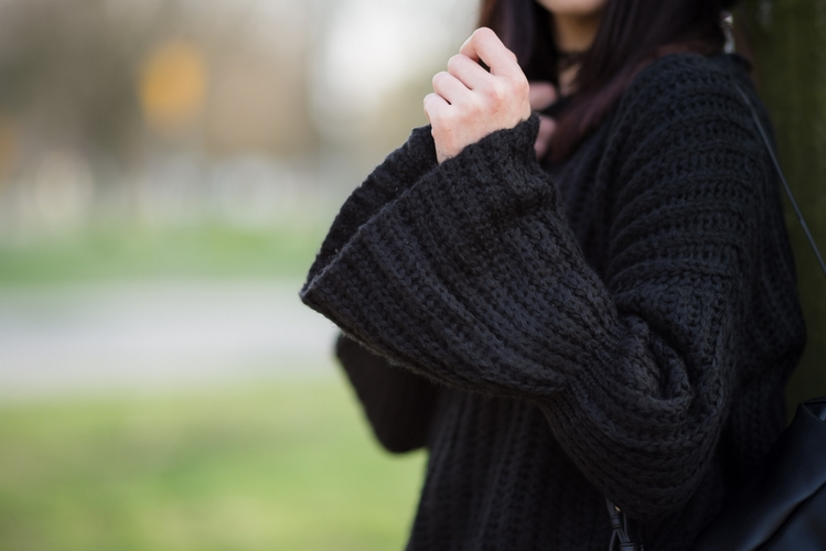 bell sleeves sweater Zaful