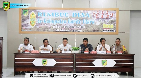 Tingkatkan Pengawasan Alokasi DD, Pemkab Barut Adakan Rembug Desa