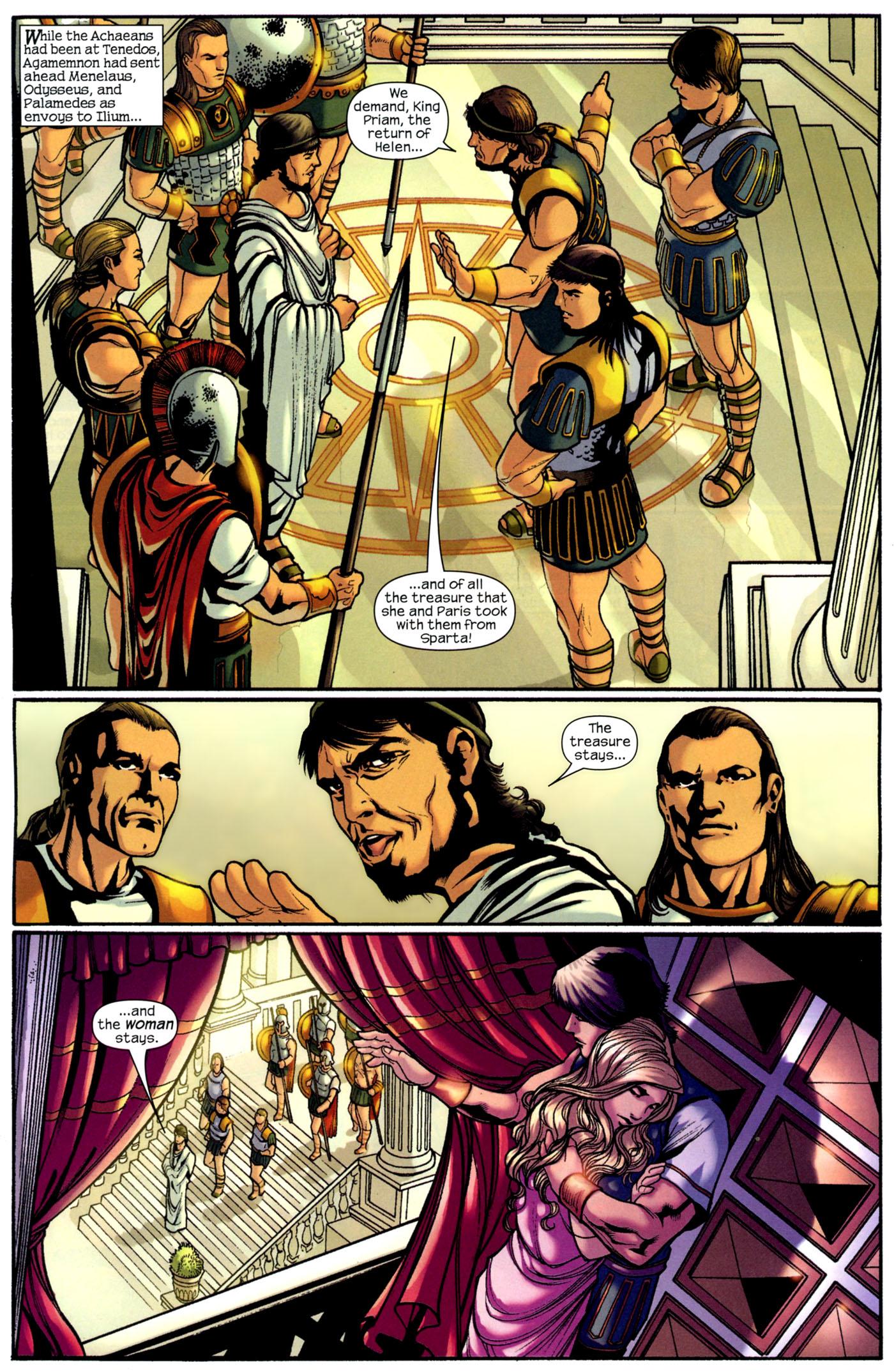 Read online Trojan War comic -  Issue #2 - 12