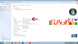 Mengatasi System Rating Is Not Available di Windows
