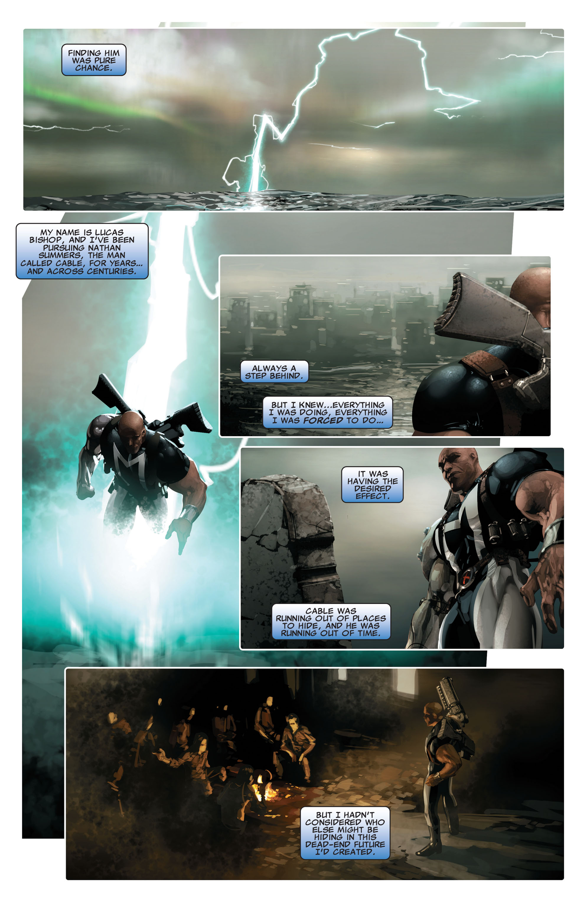 Read online X-Force (2008) comic -  Issue #14 - 3