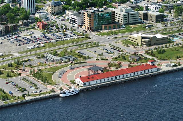 Zone portuaire de Chicoutimi Saguenay