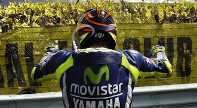 Skenario Pensiun Mengagumkan Valentino Rossi di Grand Prix Indonesia 2018