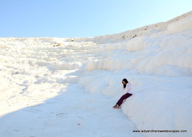 Lady in Pamukkale