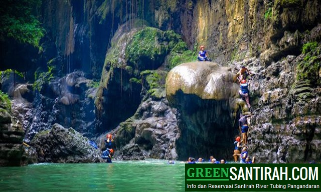 Paket Green Canyon Body Rafting