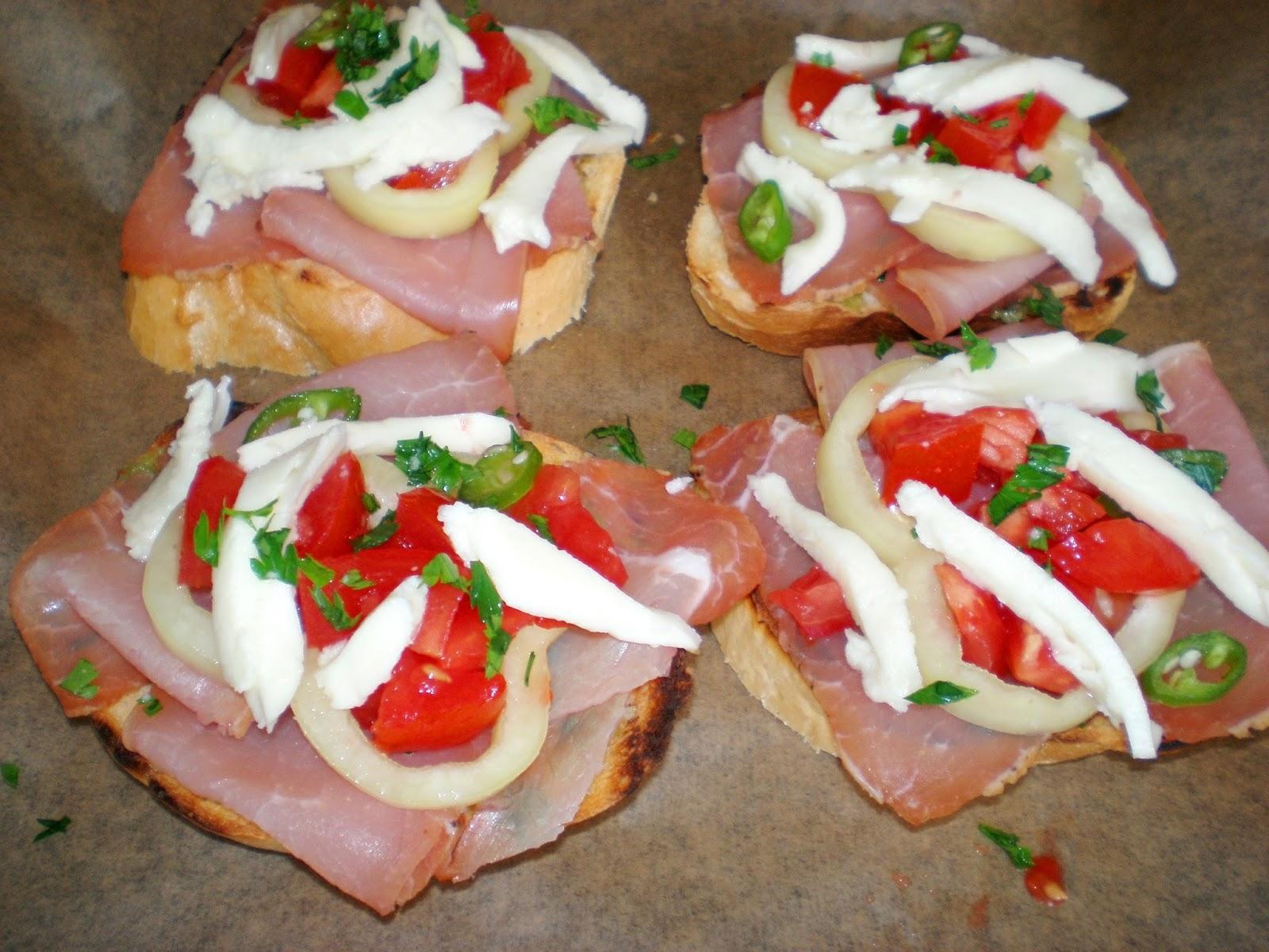 Sandwich la cuptor